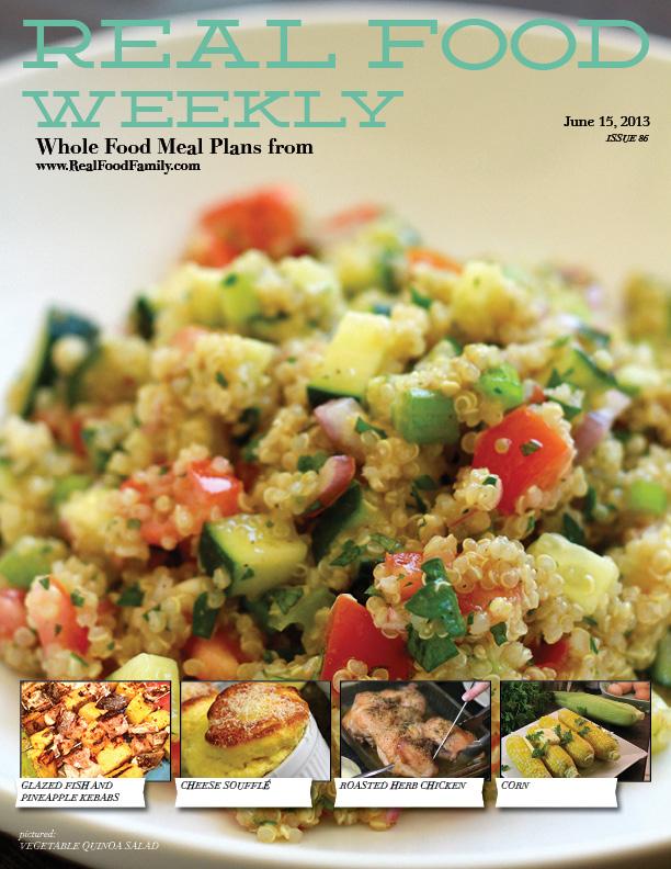 June 15, 2013 Meal Plan