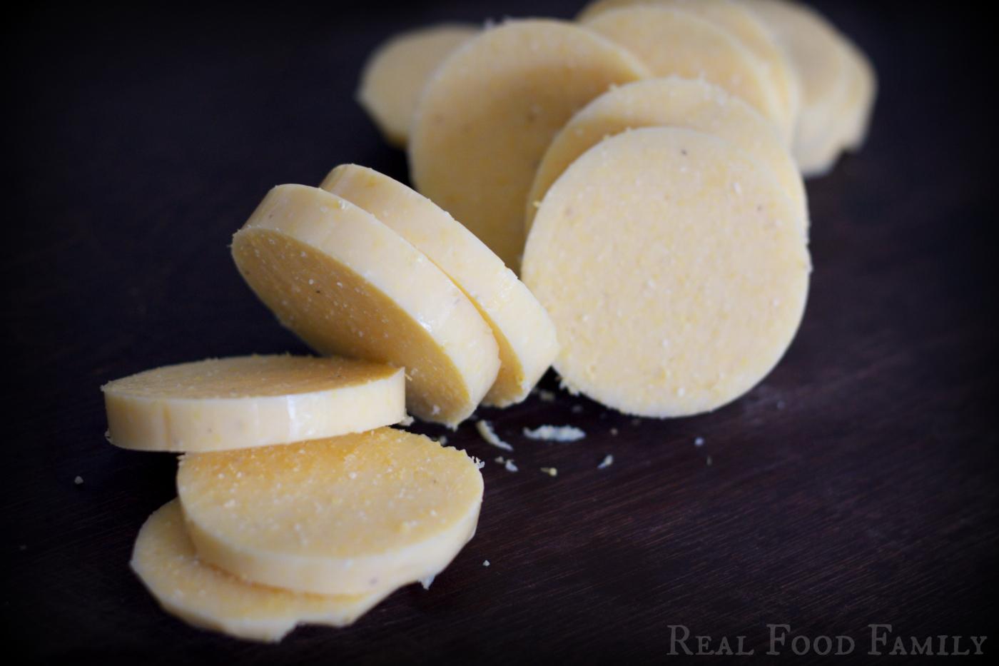 Eggs Benedict on Polenta Cakes with Pesto Hollandaise ~ Gluten Free