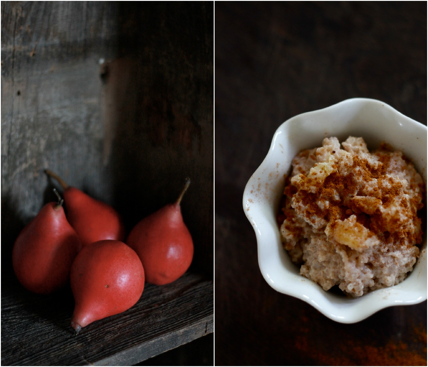 Caramelized Pear and Coconut Rice Pudding {Dairy Free, Gluten Free, Vegetarian, Vegan}