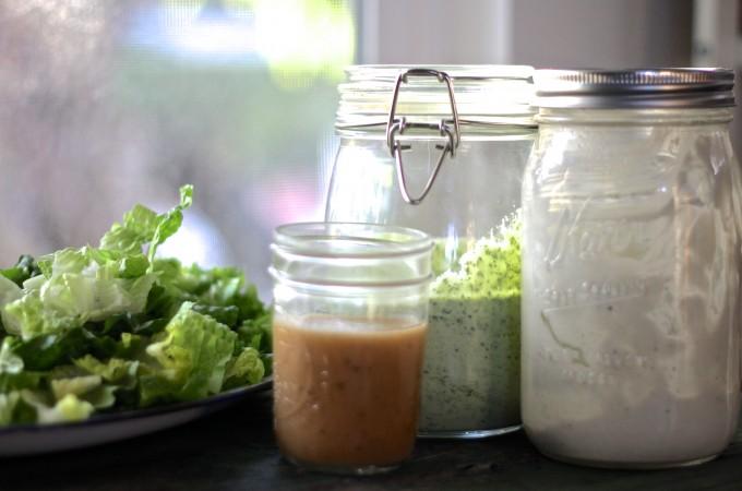 3 Essential Salad Dressings